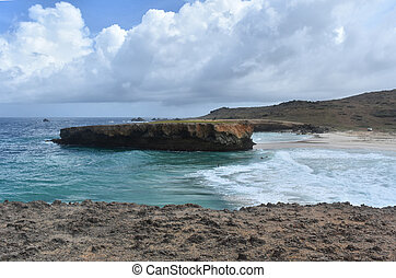 Beautiful Seascape of Boca Keto in Aruba