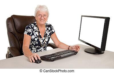 Beautiful Senior Businesswoman