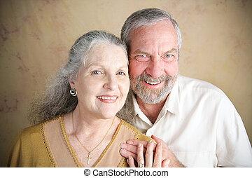 Beautiful Senior Couple - Christianity