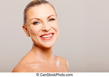 senior woman after a makeover