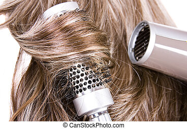 hair - beautiful shiny healthy style hair