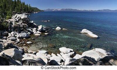 Beautiful Shoreline of Lake Tahoe