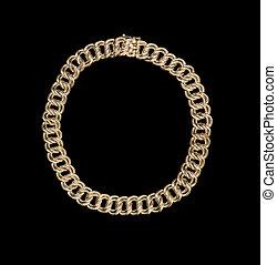 BEAUTIFUL SILVER NECKLACE - beautiful silver necklace on a...