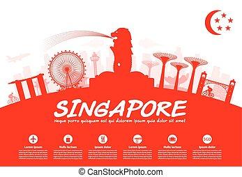 Singapore Travel Landmarks - Beautiful Singapore Travel...