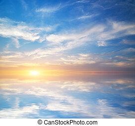 Beautiful sky background.