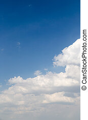 beautiful sky background with clouds