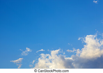 Beautiful sky background