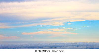 Beautiful sky scenery