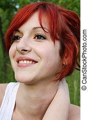 Beautiful smilin girl