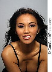 Beautiful Smiling Asian Girl (2)