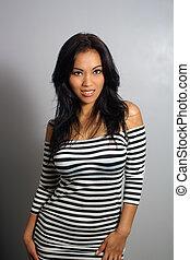 Beautiful Smiling Asian Girl (3)