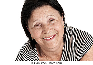 Beautiful Smiling Mature Woman