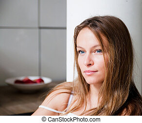 young attractive woman