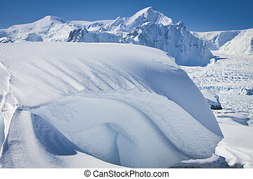 snow-capped mountains - Beautiful snow-capped mountains ...