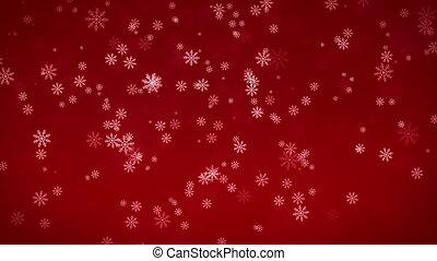 Beautiful Snowflakes  background.