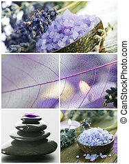 Beautiful Spa Collage