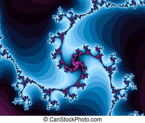 Beautiful Spiral Fractals - Beautiful computer generated ...
