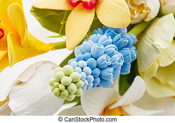 Beautiful spring flower bouquet - Beautiful handmade art...