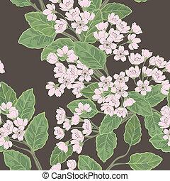 Beautiful   spring pattern