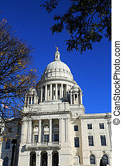 Beautiful state capitol building