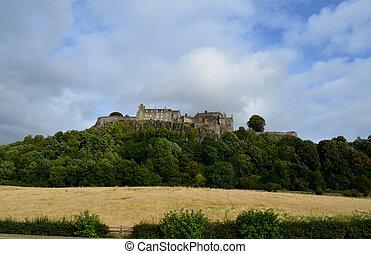 Beautiful Stirling Castle in Scotland