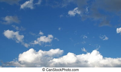 Beautiful - Cloud time lapse in the beautiful Utah sky. one...