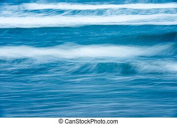 Beautiful stormy ocean. Scenic waterscape.
