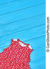 Beautiful summer baby-girl apparel.