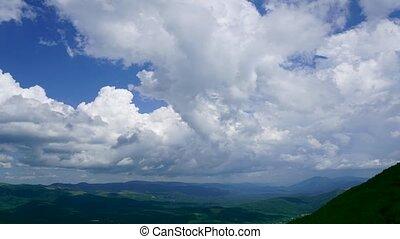 Beautiful summer landscape in mountains - Beautiful...