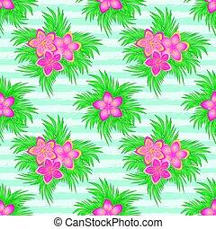 Beautiful summer seamless pattern, vector illustration