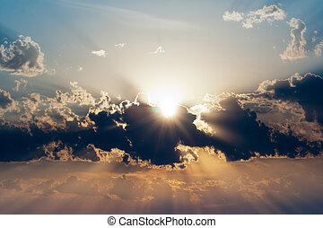 sundown - beautiful sundown