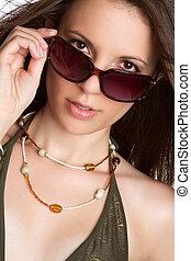 Beautiful Sunglasses Woman