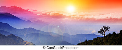 Beautiful sunrise for adv or others purpose use