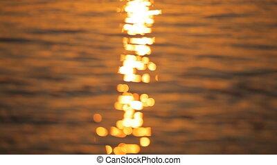 beautiful sunrise on the island of Santorini