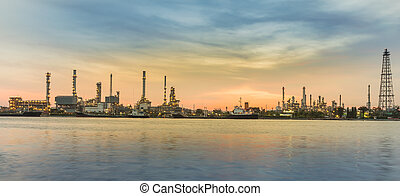 Refinery and tower