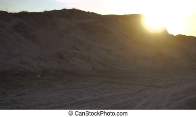 Sunset at the sand hills - Beautiful Sunset at the sand...