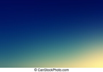 Beautiful sunset sky / Blue, Orange And Yellow Colors Sunset sky wallpaper