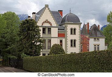 swiss mansion