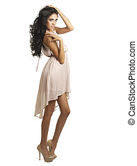Beautiful tall woman - Beautiful tall long legged model...