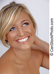 beautiful tanned woman - beautiful young woman with tanned ...