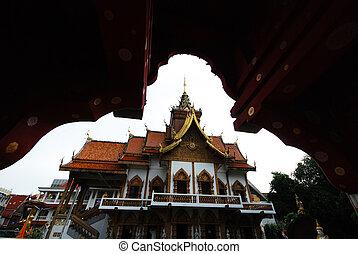 beautiful Thai temple