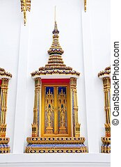 Beautiful Thai temple window