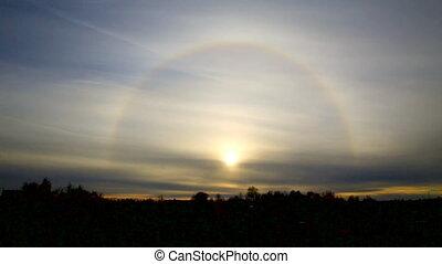 Beautiful the Sun Halo (Circumscribed Halo)