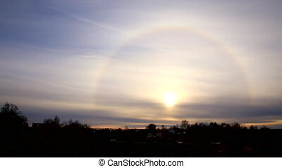 Beautiful the Sun Halo (Circumscribed Halo)