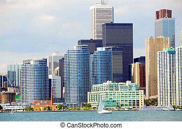Toronto waterfront - Beautiful Toronto waterfront