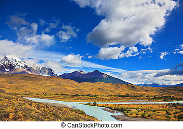 Beautiful Torres del Paine in Chile