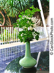 Beautiful tree in vase