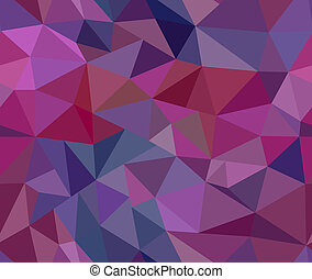 Beautiful Triangle iridescent seamless pattern