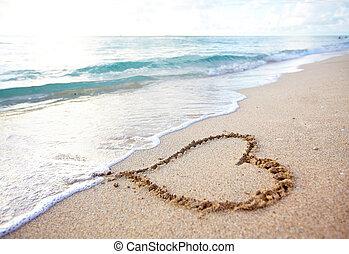 Beautiful tropical beach. Caribbean vacation resort.