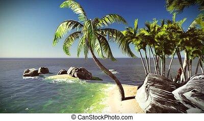 Beautiful tropical island